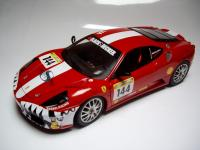 Ferrari F430 Challenge Team Kessel Racing Shark #144 1/18