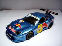 Ferrari 550 GT Dart Racing Red Bull 1/18